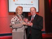 Treacy's Bar and Restaurant received a Road Safety Authority award
