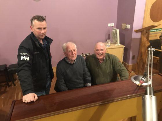 Brenny Mac Namara (son), Brendan director, and Joe Mac Namara are all part of the Portlaoise Singers