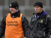 Ciaran Carey and Mark Foley will be on the sideline for Slieve Bloom this year