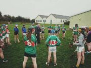 The St Fergal's camogie team lost out on Friday