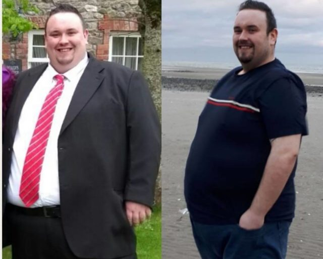 Alan Smyth shows off incredible weight loss