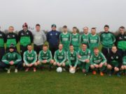 The Stradbally Town team that won after a penalty shoot out this morning