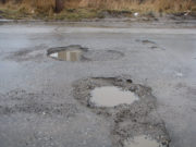 The roads in Laois are poor