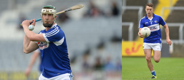 Ross King and Stephen Attride have been named as captains for the Laois footballers and hurlers