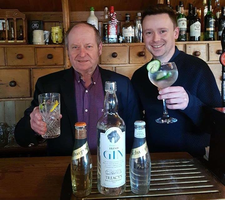 Tommy Treacy and Niall Treacy with their new brand of gin