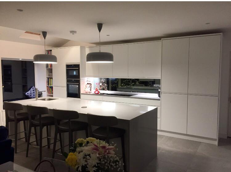 A look at a recently finished kitchen in brisbane east for Kitchen design jobs brisbane