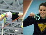 Barry Pender and Sarah Buggy claimed National Indoor titles