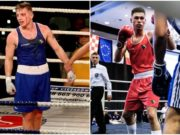 Wayne Kelly and Michael Nevin of Portlaoise Boxing Club are bidding for glory