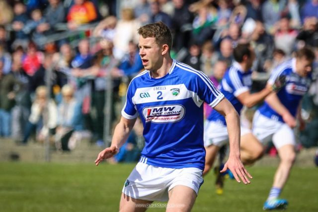 Stephen Attride is hoping a big crowd of Laois fans turn out next week - Picture: Paul Dargan