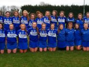 The Laois minor camogie team
