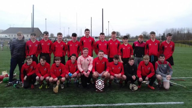 The Clonaslee College team who won the North Leinster final today