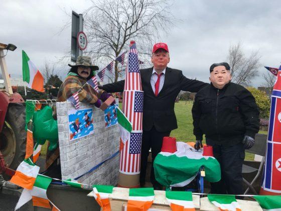 Kim Jong-Un and Donald Trump were in Abbeyleix