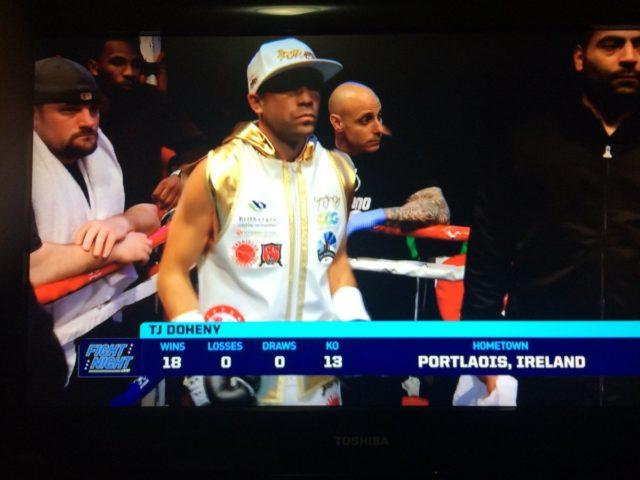 TJ Doheny won again last night