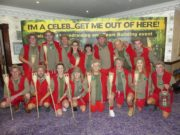 All of the contestants at the I'm A Celebrity Get Me Out of Here fundraiser
