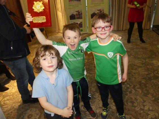 Portlaoise St Patrick's Day Awards night