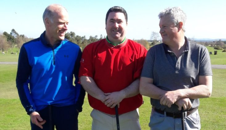 Members of the Laois Hurlers Golf Society