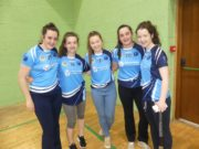 Members of O'Moore's Camogie club