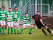 Killeshin FC went down to Parkville United - Picture Paul Dargan