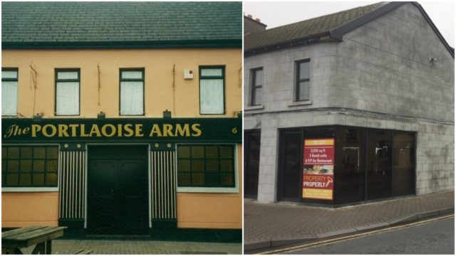 The former Portlaoise Arms is to be turned into a restaurant