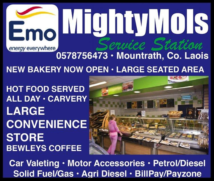 JOB VACANCY: Busy service station in Mountrath looking to