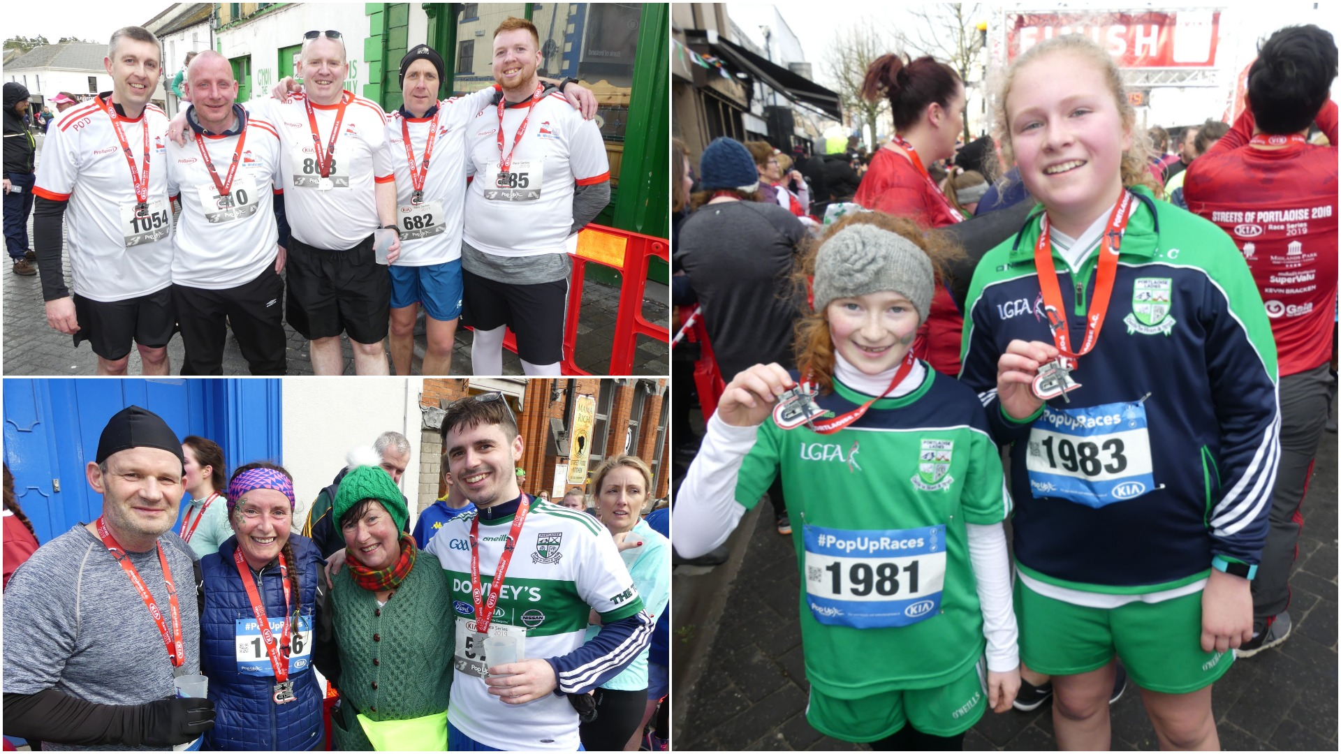 0132cf9f8 On a windy St Patrick's day in Portlaoise, a record entry of almost 1,000  runners took to the Streets of Portlaoise for the first round of the 2019  Kia Race ...