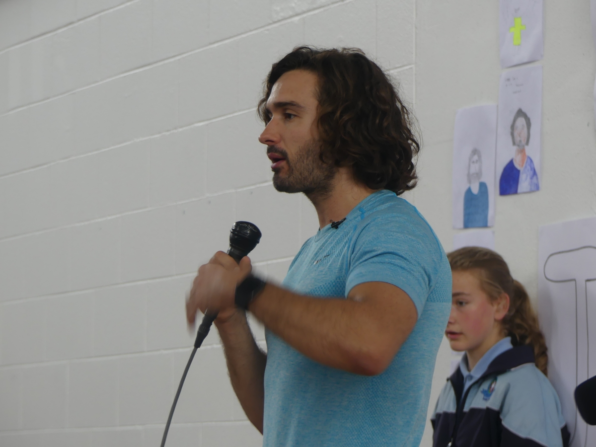 In Pictures: Joe Wicks The Body Coach Puts Pupils Through