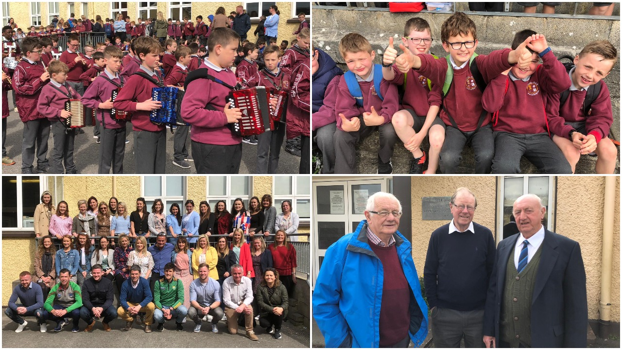 2724e1077 Today marked an emotional day in Portarlington as St Patrick's Boys  national school – now known as Scoil Phádraig – celebrated their first  official day at ...