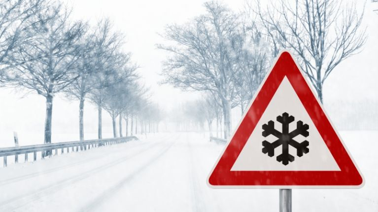 Weather Warning as snow to hit Laois and most of the country next week -  Laois Today