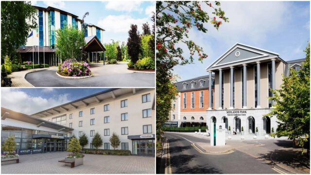 The Heritage, Midlands Park and Maldron Hotels