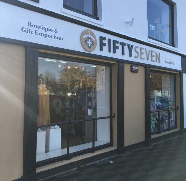 Fifty Seven Boutique, Durrow.