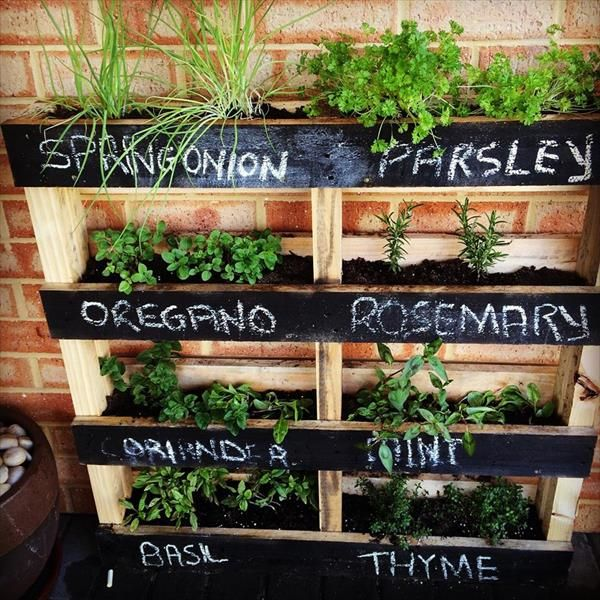 How To Make A Vertical Herb Garden With, How To Make A Vertical Herb Garden