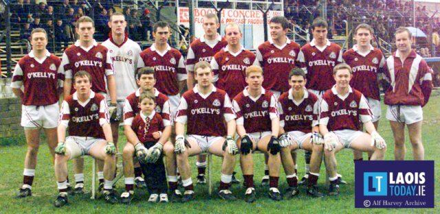 The Arles team that won the 1999 Laois intermediate football final