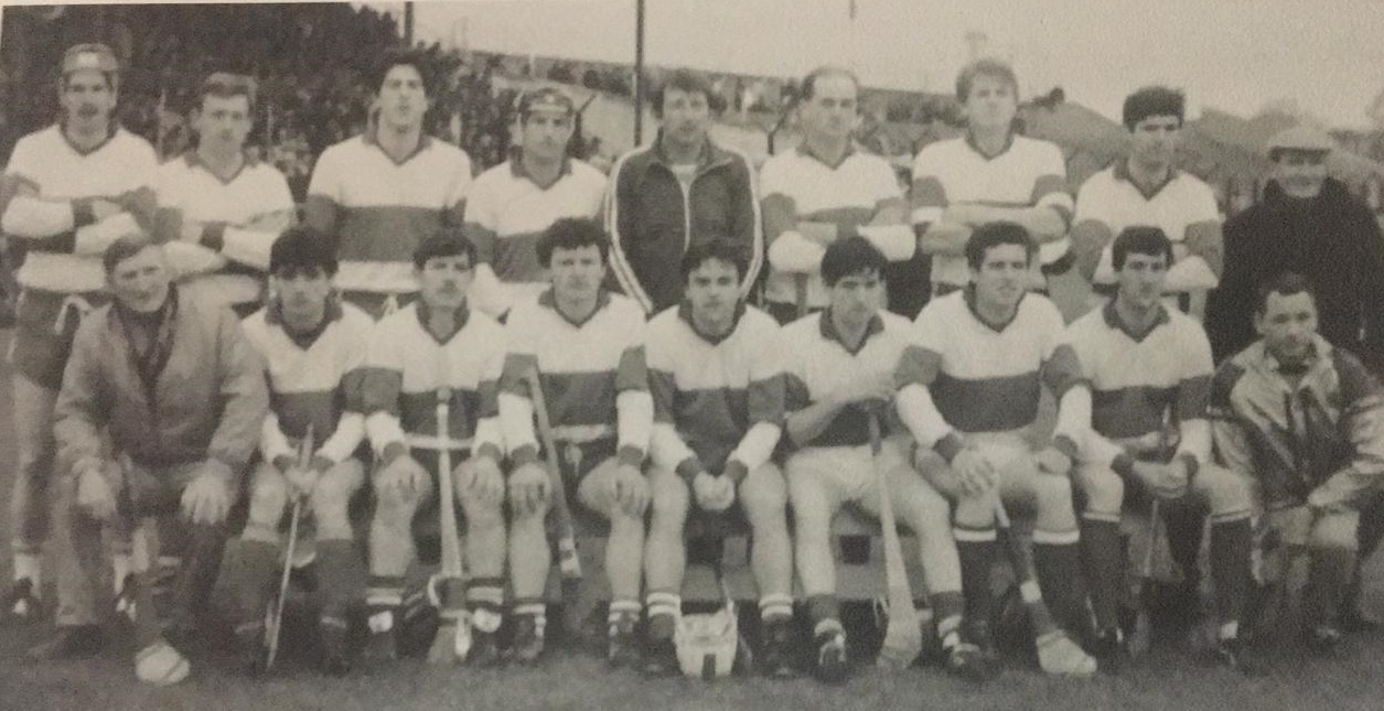 The Portlaoise team that were beaten in the 1985 Laois SHC final by Camross