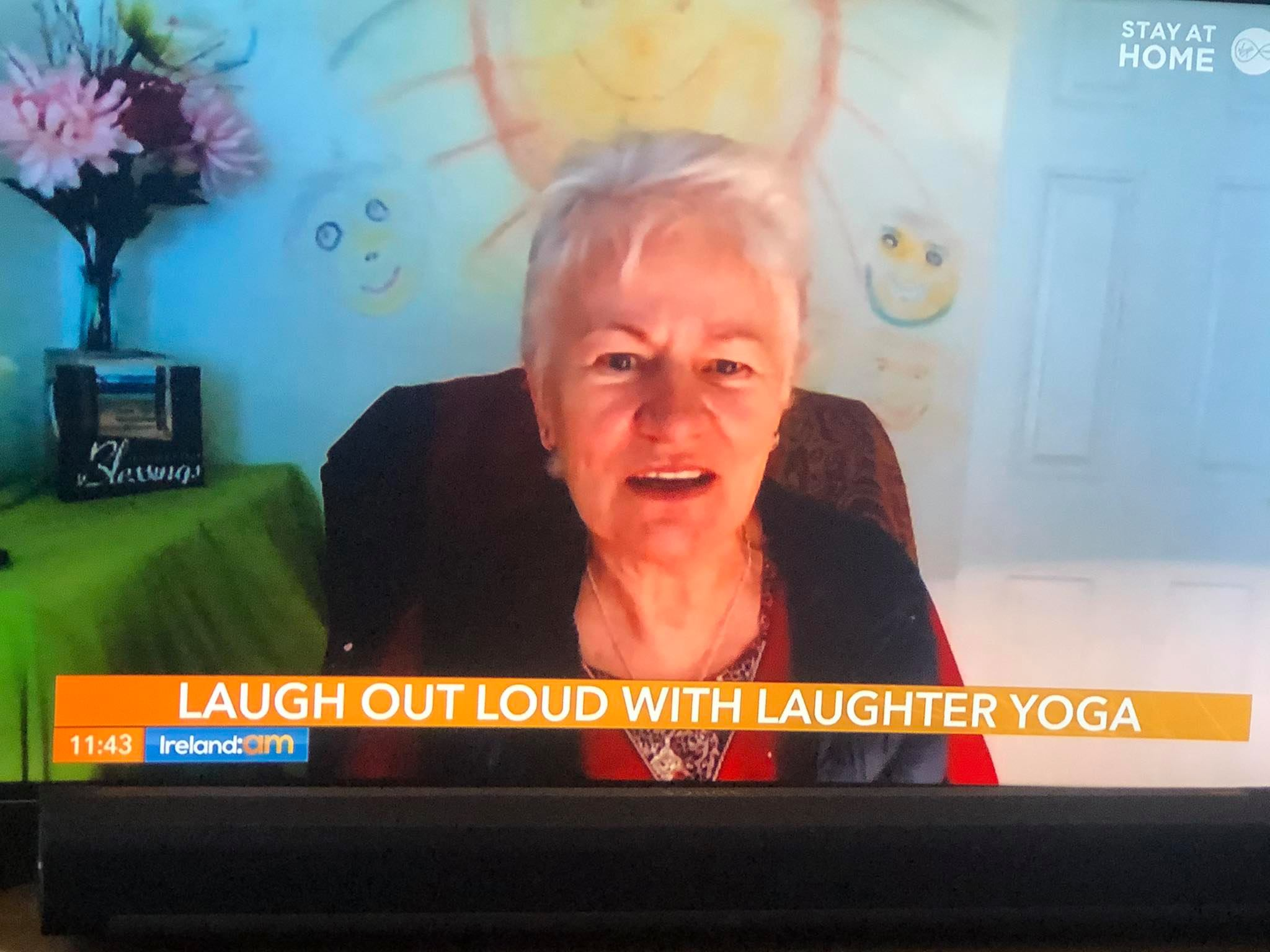 Laughter Yoga (Hasyayoga) with Mary Ananda Shakt