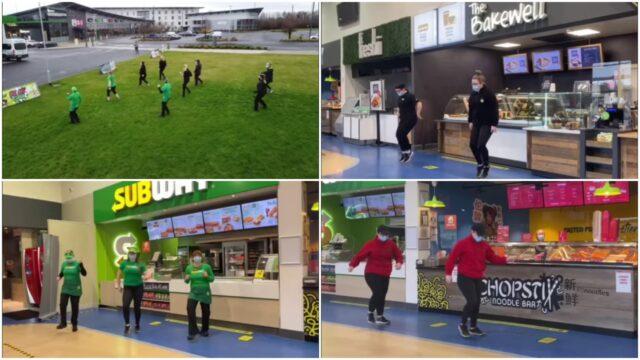 Midway Food Court Jersusalema Dance Challenge