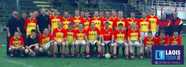 The Harps team that won the 2000 Laois Junior 'A' football final