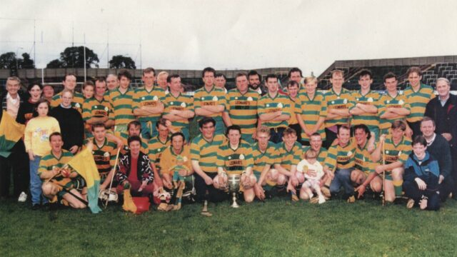 The Ballypickas team that won the Laois Junior hurling final in 1994