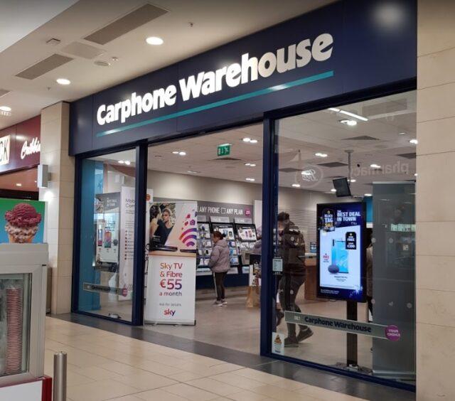 Carphone Warehouse closing