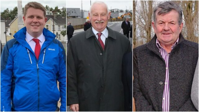 Laois County Councillors Conor Bergin, Paddy Bracken and Ollie Clooney clashed over the allocation of funding for local roads