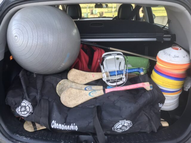 GAA coaching equipment