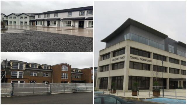additional homes in two existing Laois housing estates