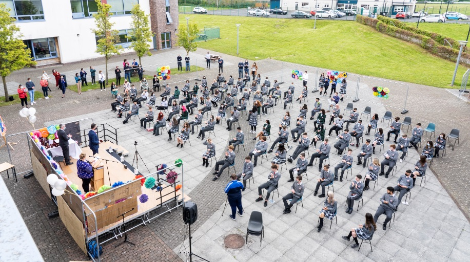 Portlaoise College graduation