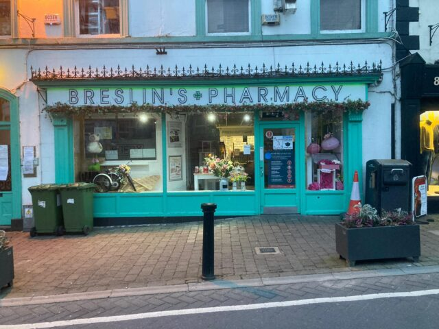 Breslin's Pharmacy on Main Street Portlaoise are moving to the Parkside Shopping Centre