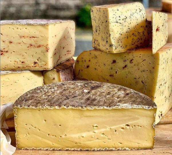 Carlow Farmhouse Cheese at the Stradbally Farmers Market