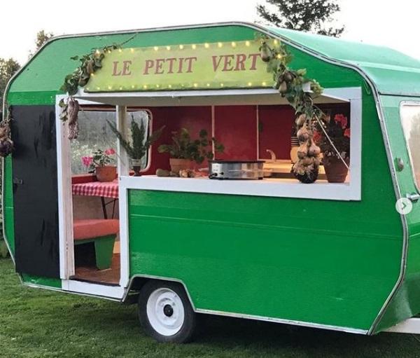 Le Petit Vert at the Stradbally Farmers Market