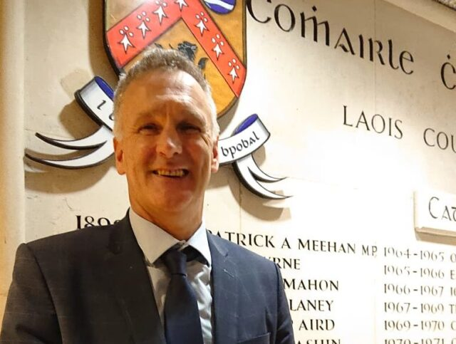 Joe Delaney, Laois County Council