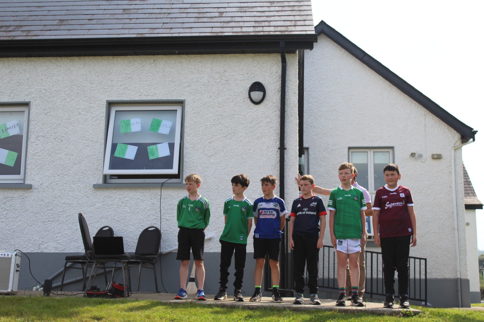Declan Hannon visits Timahoe NS