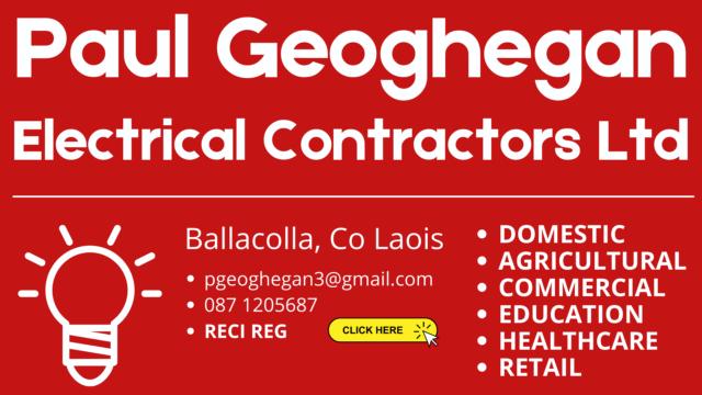 Paul Geoghegan Electrical Contractors Ltd