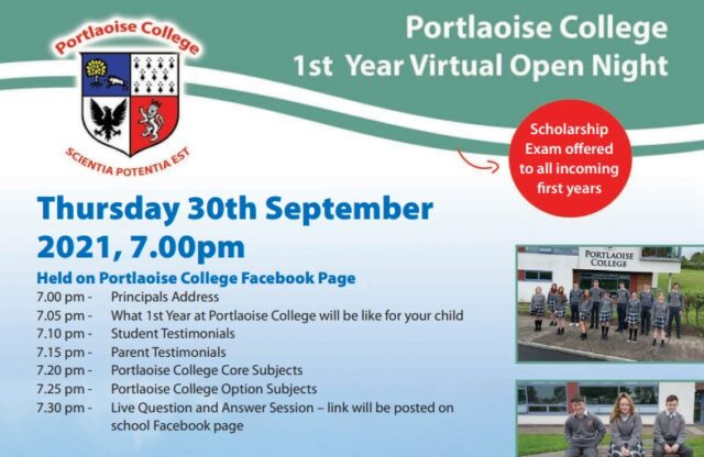 Portlaoise College Open Night