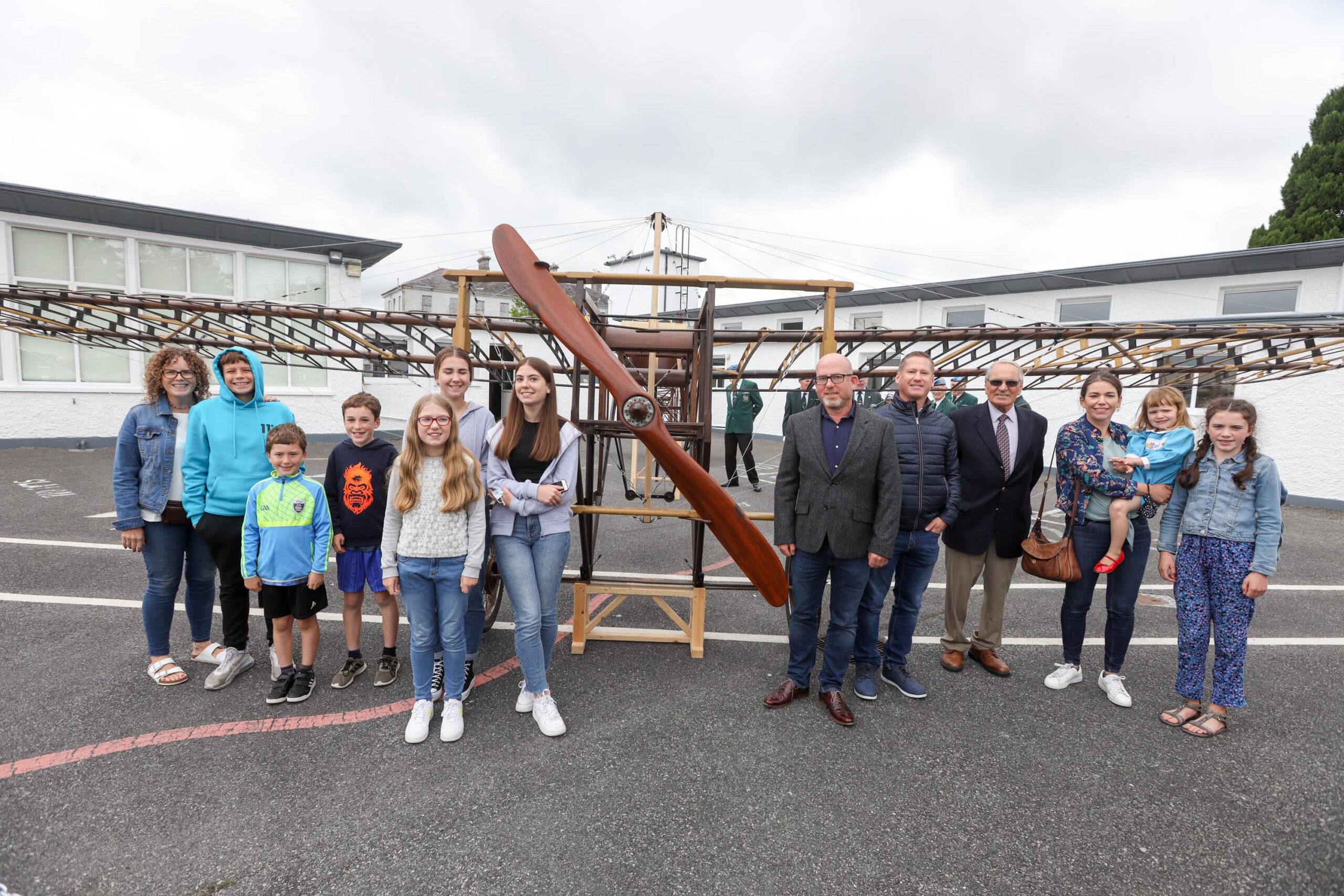 Portlaoise Plane Returns 07